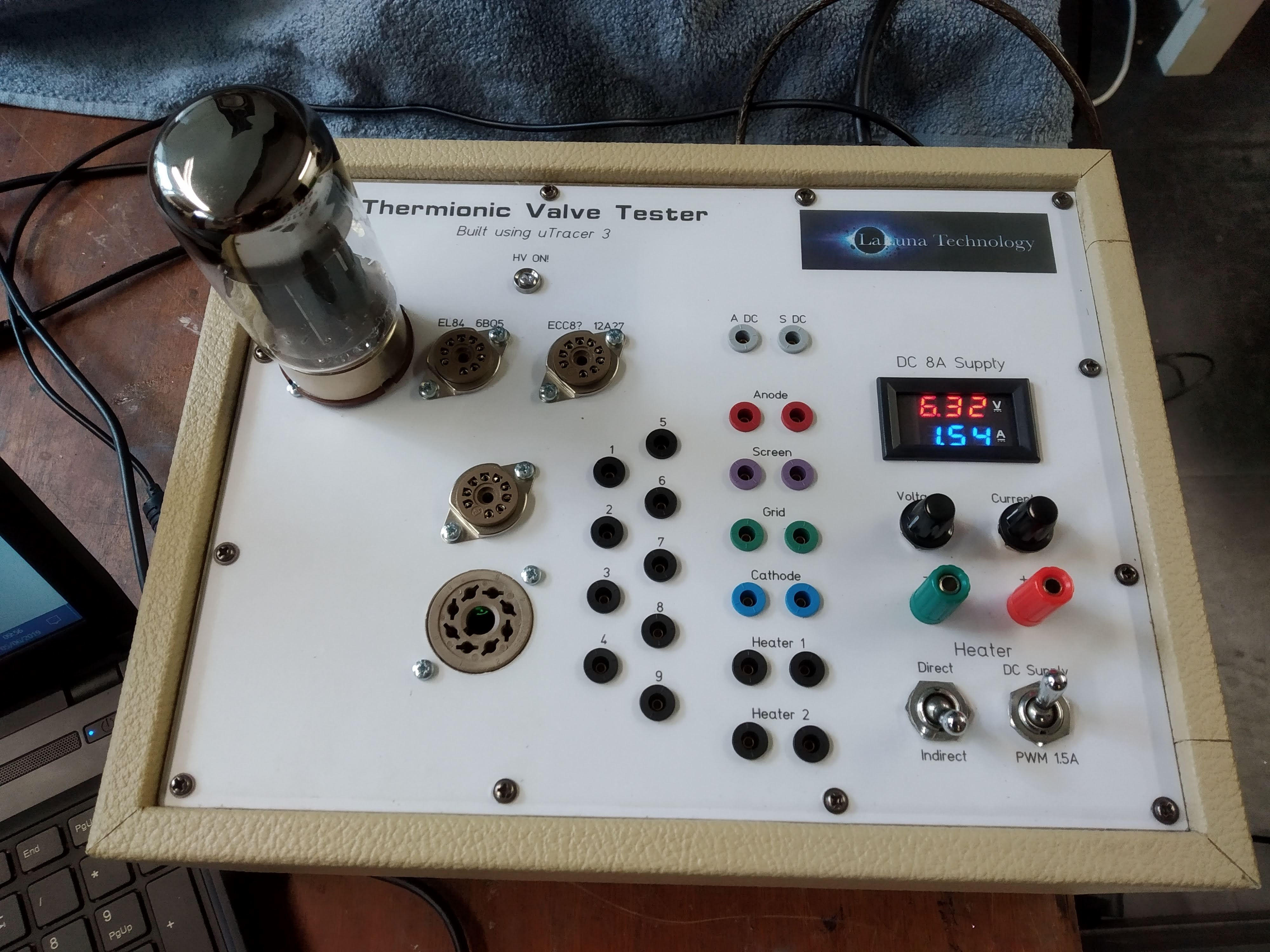 uTracer Thermionic Vacuum Tube or Valve Tester | LaLuna